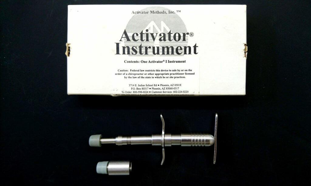 アクティベーターメソッド用の器具