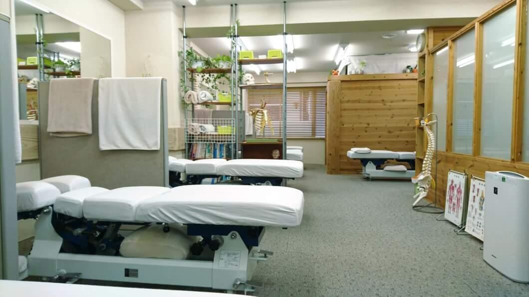 ルメディエ治療院の診察室
