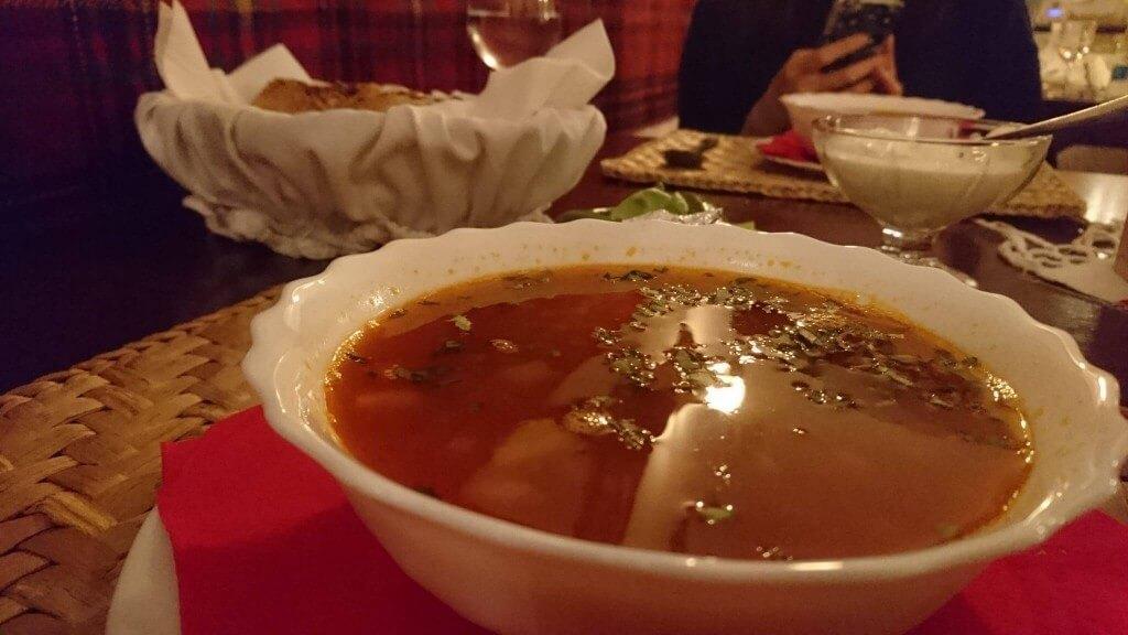 ビーフサワースープ