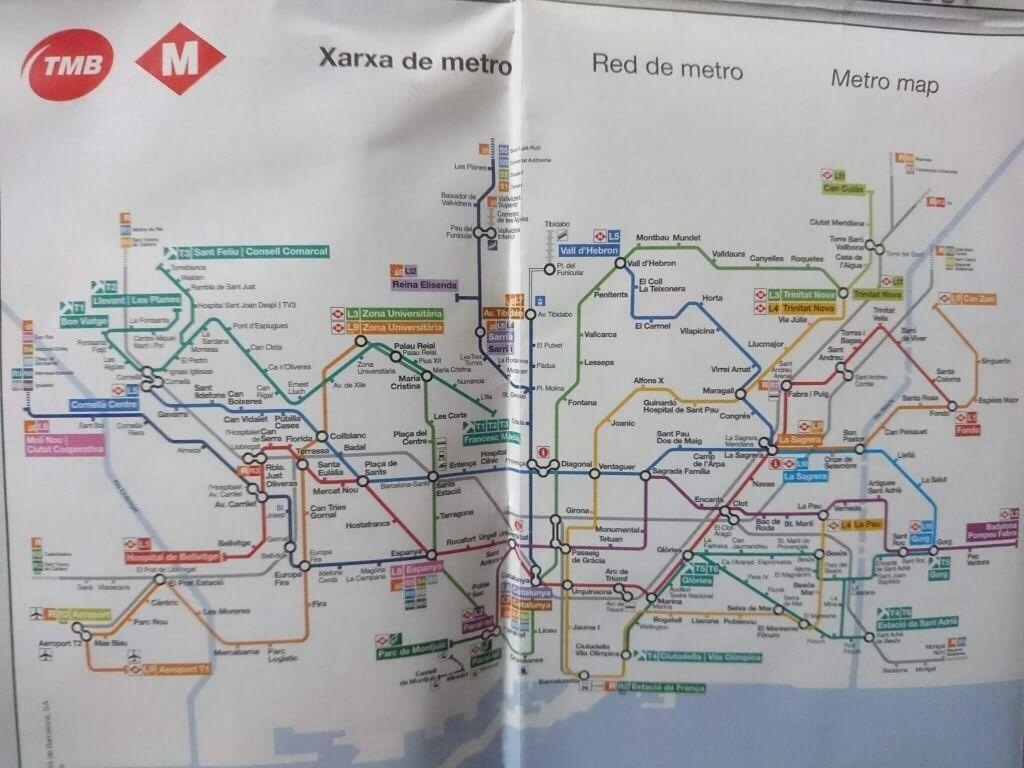 バルセロナシティーマップ