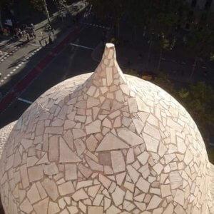 カサ・ミラ屋上のトンガリ