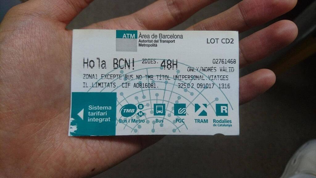 2日乗車券